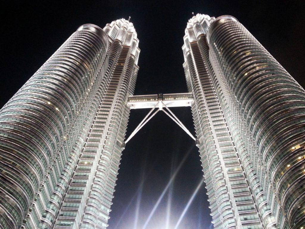 Bliźniacze wieżowce Petronas Tower