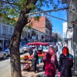 Chicken Street w Kabulu - Ulica z pamiątkami i antykami