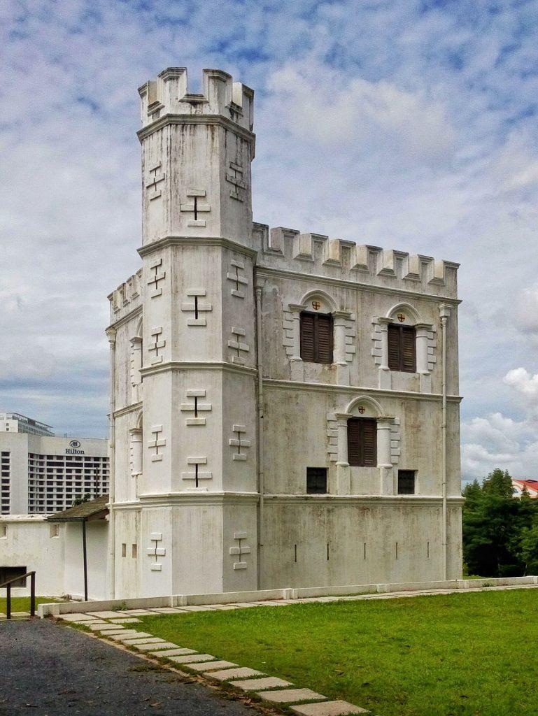 Fort Margharita wybudowany rodzinę Brooke
