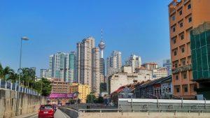 Kuala Lumpur Tower a za nami Berjaya Times Square