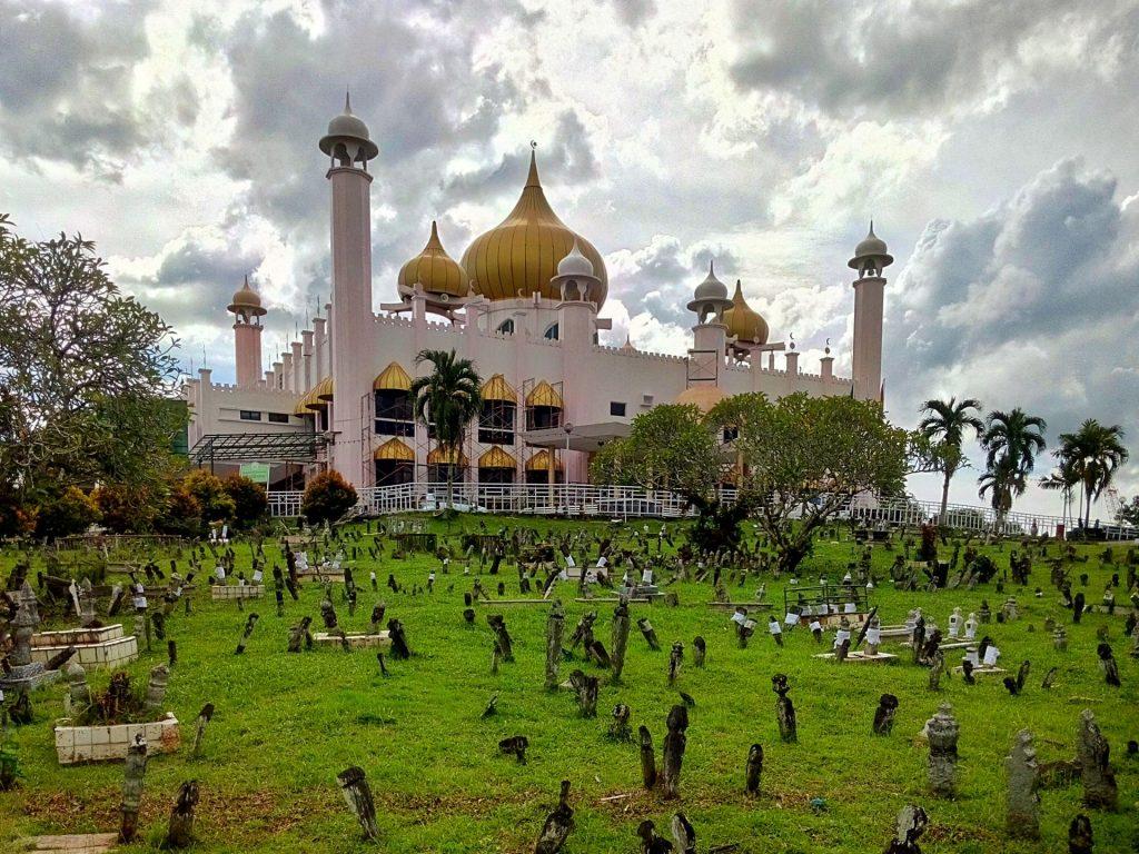 Meczet w Kuching na Morneo