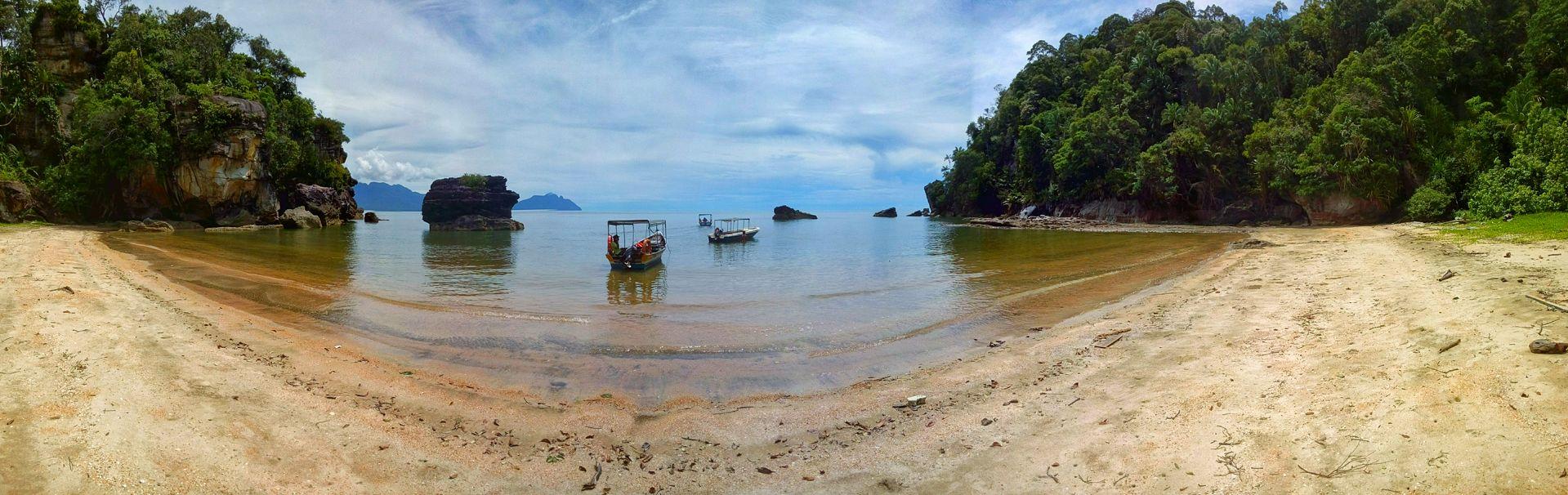 Park Narodowy Bako na Borneo - Panorama
