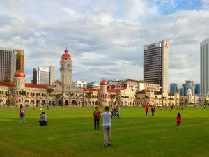 Plac Niepodległości w Kuala Lumpur (Merdaka Square)