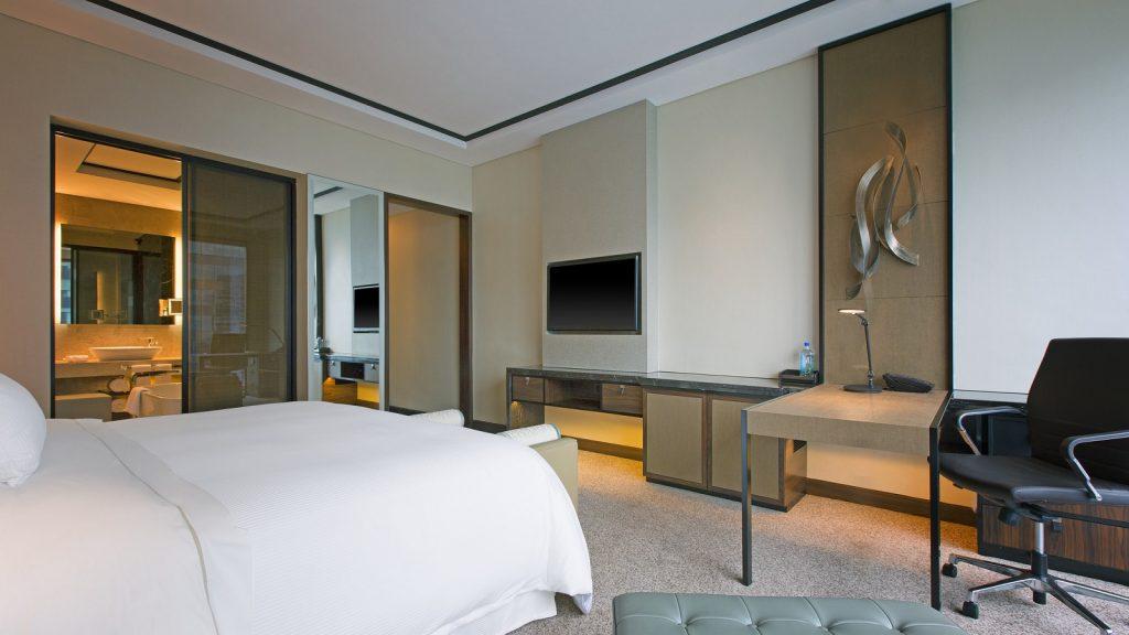 Pokój w hotelu Westin w Singapurze