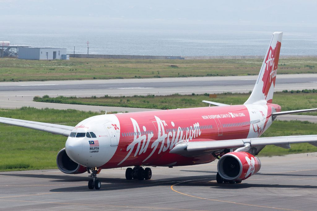 Samolot Linii Lotniczych AirAsia