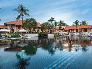 Sofitel Singapore Resort Sentosa basen na dachu