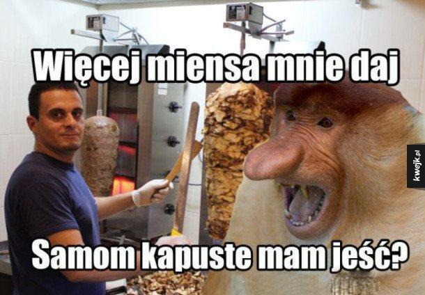 Janusz oczywiście na imigrantów ponarzeka ale kebaba kupi