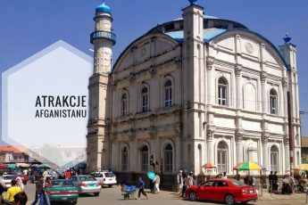 Meczet w Kabulu okładka postu o największych atrakcjach Afganistanu