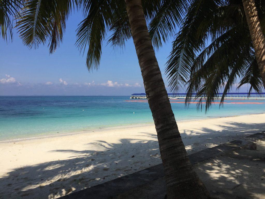 Przy takim widoku można by się budzić codziennie - Pulau Babi Besar