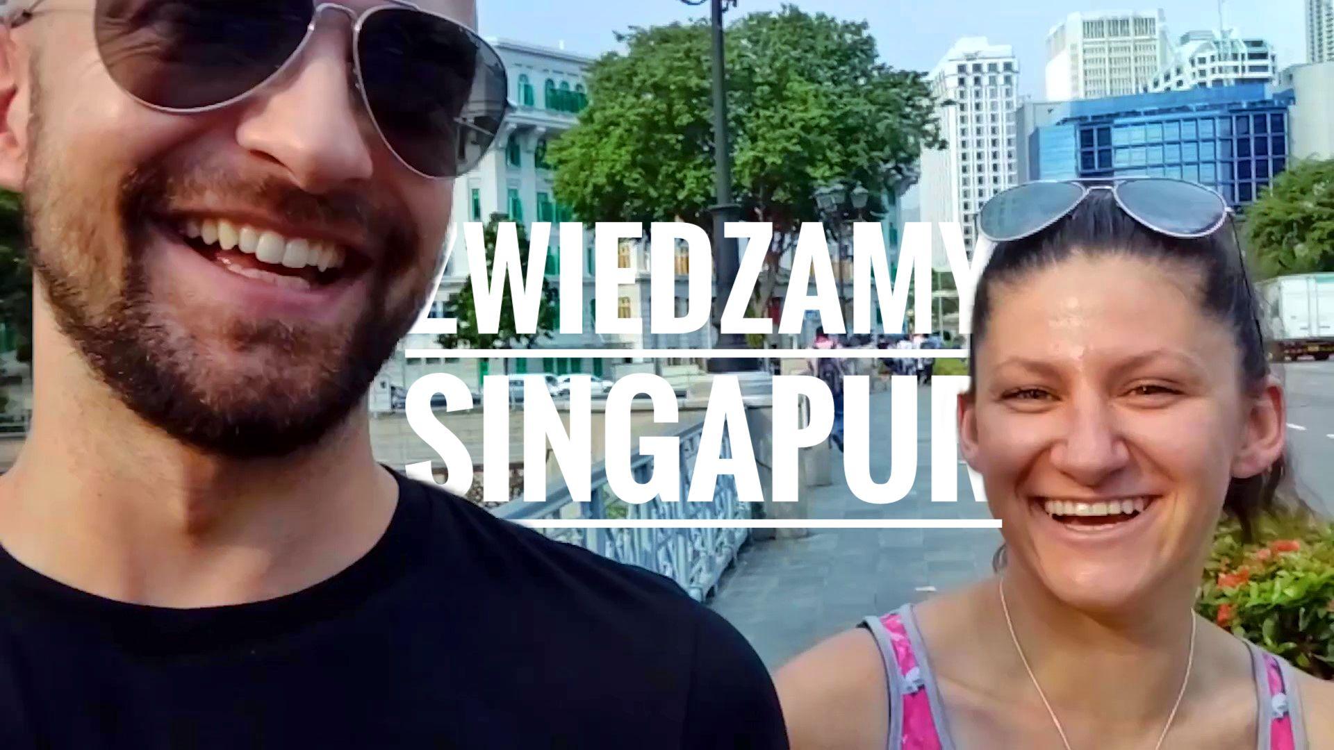 Zwiedzamy Singapur z Anią Turowską - okładka postu - vlog
