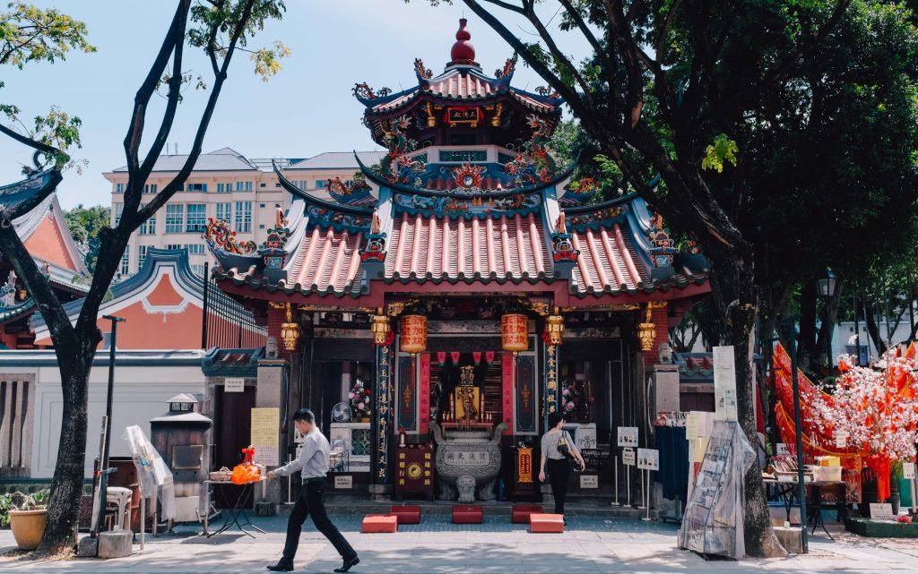Świątynia Thian Hock Keng w Singapurze, Religie Singapuru