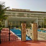 Budynek parlamentu Senegalu w dzielnicy rządowej - Senegal
