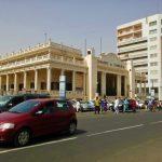 Izba Handlowa przy placu niepodległości w Dakarze
