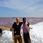 Mój przewodnik po Dakarze - dzięki niemu byliśmy w stanie wejście tam gdzie inni nie mogą