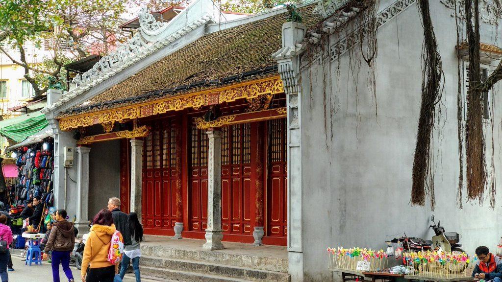 Świątynia Đền Bà Kiệu w stolicy Wietnamu - Hanoi