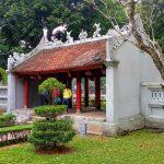 Świątynia literatury zwana też świątynią żółwi w Hanoi