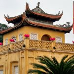 Brama fortu Cổng Đoan Môn w Hanoi
