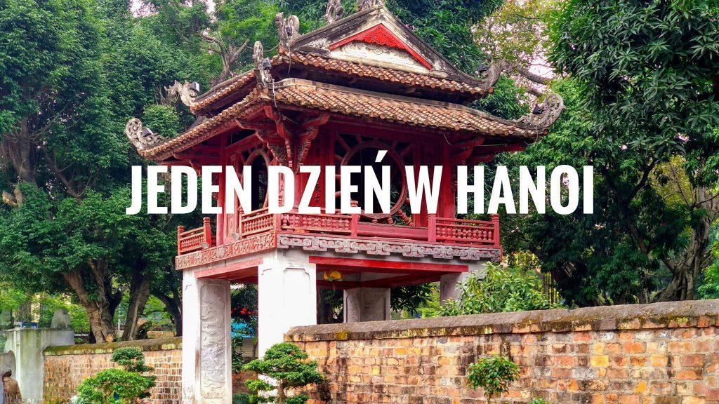 Jeden dzień w Hanoi - okładka postu