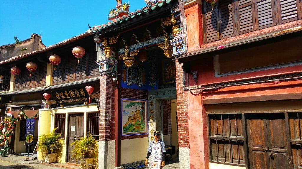 Jedna z kilkunastu świątyń rozsianych na obszarze starego miasta w George Town na wyspie Penang