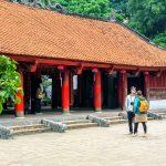 Konfucjańska świątynia Literatury Dai Thanh Mon w Hanoi