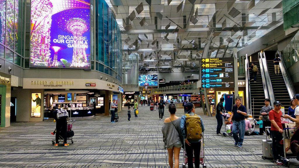 Lotnisko Changi w Singapurze najlepsze lotnisko na świecie