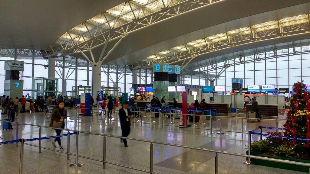 Lotnisko w Hanoi jest nowoczesne i dobrze utrzymane