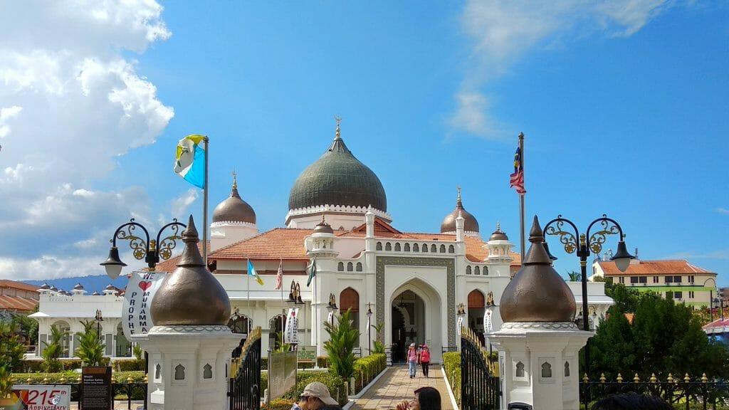 Meczet Kaptain w George Town na wyspie Penang