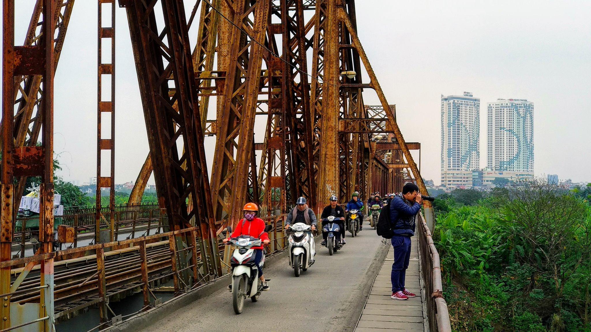 Most Long Biên jeden z najdłuższych w Azji w chwili budowy