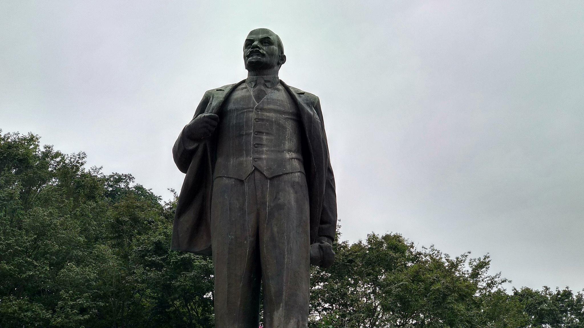 Pomnik Lenina w Hanoi w Wietnamie