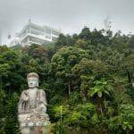 Posąg buddy w świątyni Chin Swee