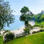 Widok z hotelu w Georgetown - plaża i ocean