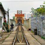 Wietnamska kolej w większości oparta jest na wąskim torze