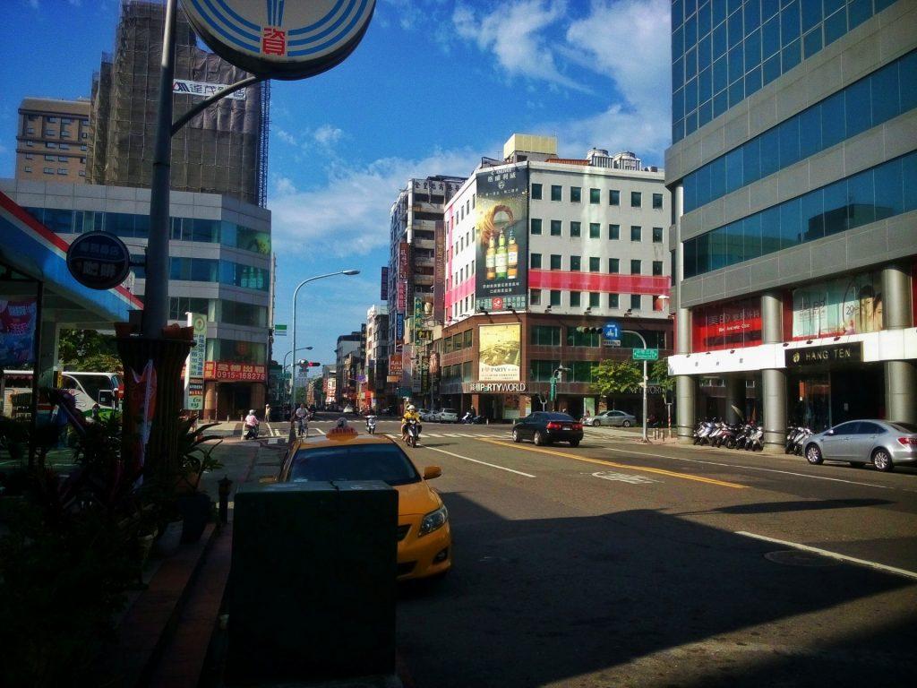 Samo Kaohsiung wydawało się być dosyć opuszczonym miastem