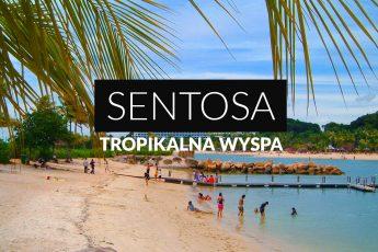 Sentosa tropikalny raj czy turystyczny konglomerat - okładka postu