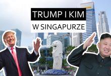 Donald Trump i Kim Jong Un w Singapurze -ściąga