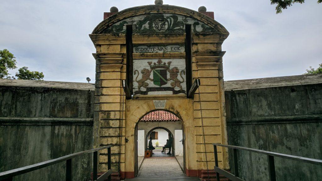 Fort w Matara jest pozostałością po kolonii holenderskiej - wstęp jest bezpłatny